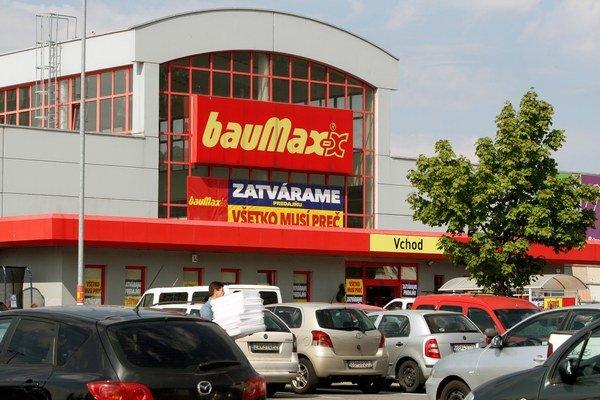 Predajne bauMaxu na Slovensku by mal prevziať nemecký koncern Obi.