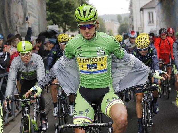 Zelený dres a Peter Sagan - to v posledných rokoch patrí neoddeliteľne k sebe.