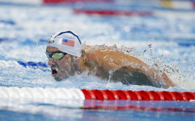 Michael Phelps dokáže víťaziť vo všetkých plaveckých štýloch.