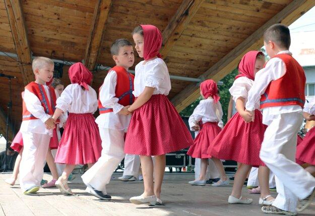 Kultúrny program bol pripravený počas celého trvania jarmoku.