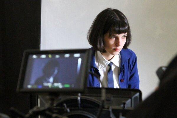 Z natáčania filmu Já. Olga Hepnarová.