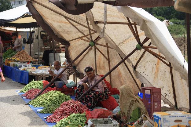 Pre Turecko je typické trhové obchodovanie a zjednávanie z cien.