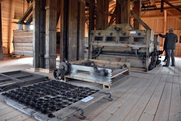 Parný mlyn v Buzici.