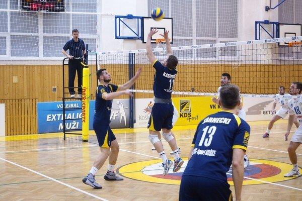 Semifinále sNitrou nevyšlo podľa predstáv. Košickí volejbalisti prehrali 0:3 na zápasy.