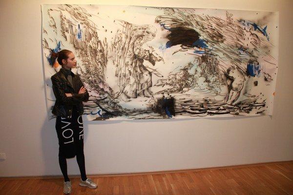 Aktuálne vystavuje vo Východoslovenskej galérii. Tentoraz ponúka pohľad na svoje najnovšie kresby.