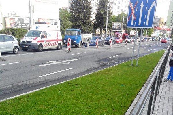 Zdržanie pre semafory. Na Kuzmányho ich vodiči žiadajú vypnúť.