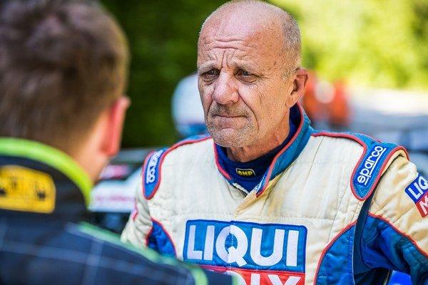 Igor Drotár. Na Jahodnej skončil druhý.