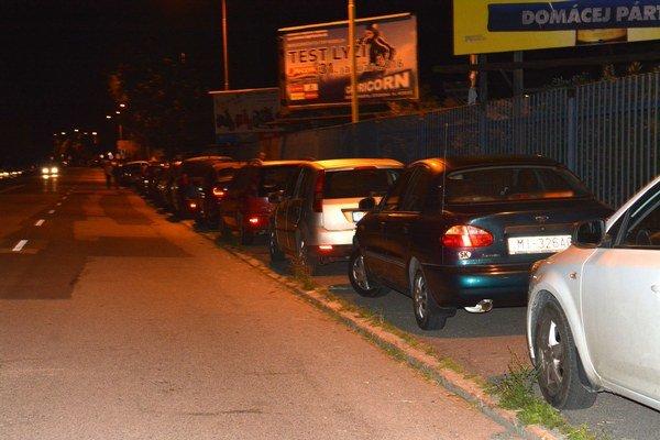 Problém bol aj s parkovaním. Pri takýchto veľkých koncertoch sa to dá očakávať.