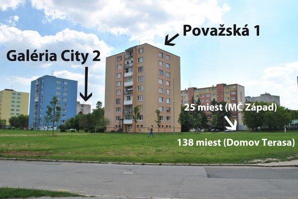 Na zeleni budú parkoviská. Dovedna tam vybudujú 163 miest.