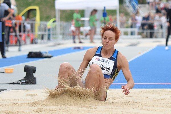 Jednou ranou dve muchy. Jana Velďáková má olympijský limit inový osobný rekord.