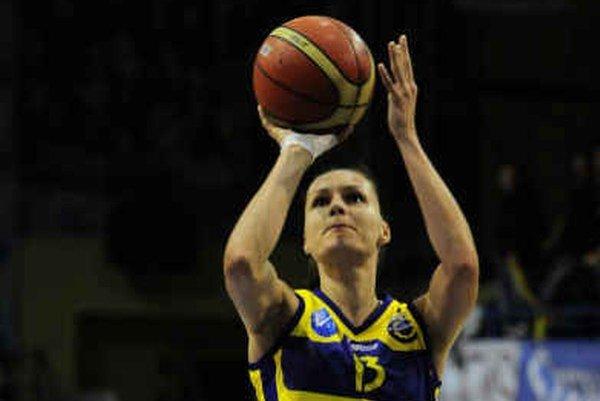 Lucia Kupčíková. Je pripravená nastúpiť aj dnes proti Kursku.