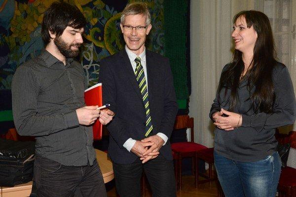 Profesor Sijmen A. Reijneveld. Medzi svojimi absolventmi Danielou Bobákovou a Petrom Kolarčikom.