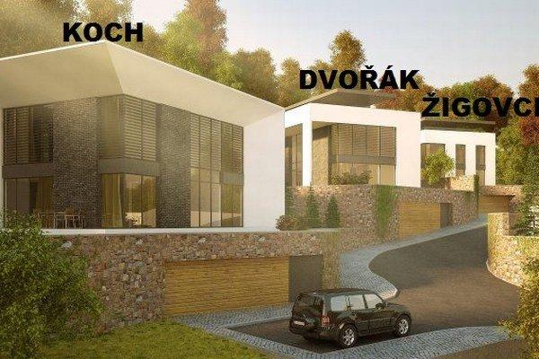 Budú bývať na kopci nad mestom. Celé Košice budú mať ako na dlani.