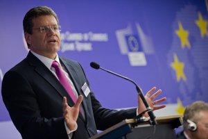 Podpredseda Európskej komisie pre Energetickú úniu Maroš Šefčovič.