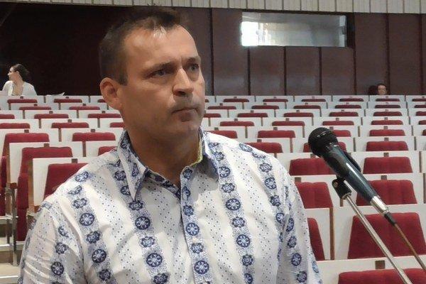 Vladimír Haviar. Jeho argumenty poslancov nepresvedčili.
