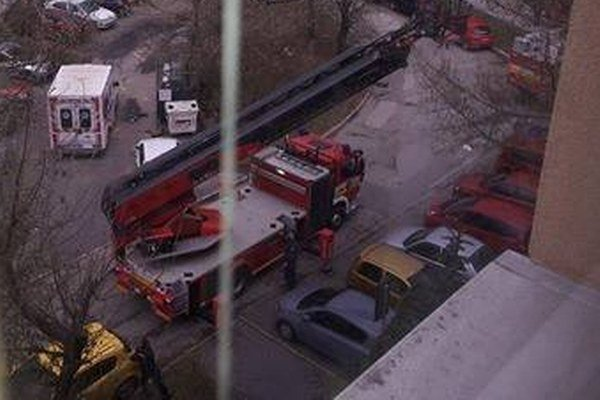 Zásah na Lesníckej ulici.