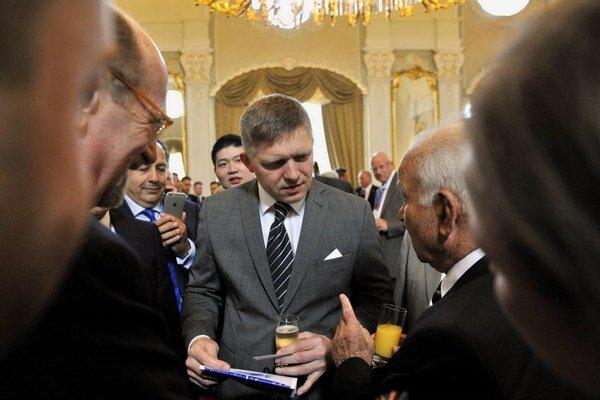 Premiér Robert Fico.