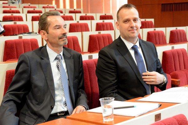 Róbert Ujpál a Martin Paška. Konateľ a technický riaditeľ BPMK.