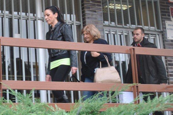 Mojsejová na slobode. Z väzby ju prepustili v októbri 2014.
