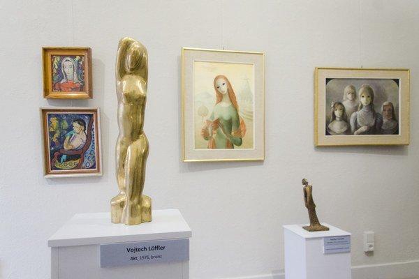 Femme fatale. V Löfflerovom múzeu teraz nájdete množstvo podôb ženy.