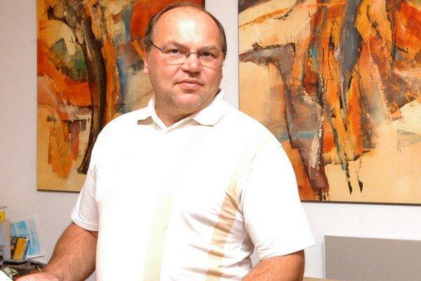Martin Račko. Riaditeľ Východoslovenskej galérie.
