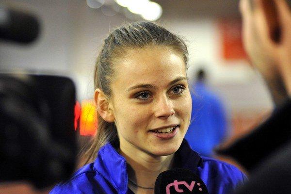Alexandra Bezeková. Zabehla druhý najlepší výkon v kariére.