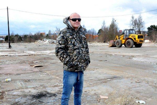 Podnikateľ Vladimír Hudák. Od skládky v Poľove sa dištancuje.