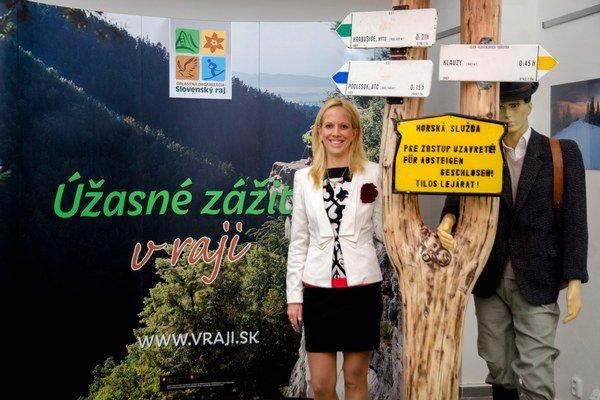 Lenka Vargová pozýva do raja. Krajská turistická agentúra prezentuje Slovenský raj aj takouto formou.