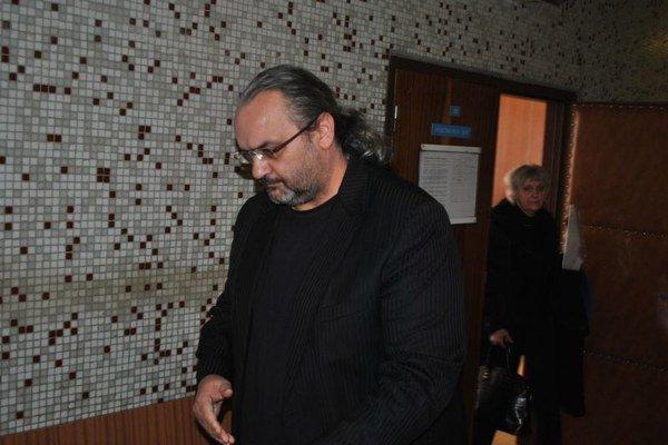 Ľubomír Horňák dnes na košickom súde. Vráti sa v piatok, aby si vypočul rozsudok.