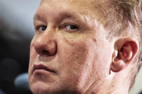 Šéf Gazpromu Alexej Miller.