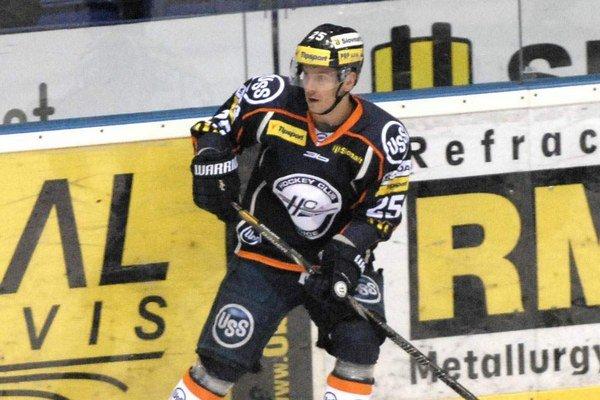 Richard Jenčík. Jeho gól 7 minút pred koncom zabezpečil oceliarom tri body.