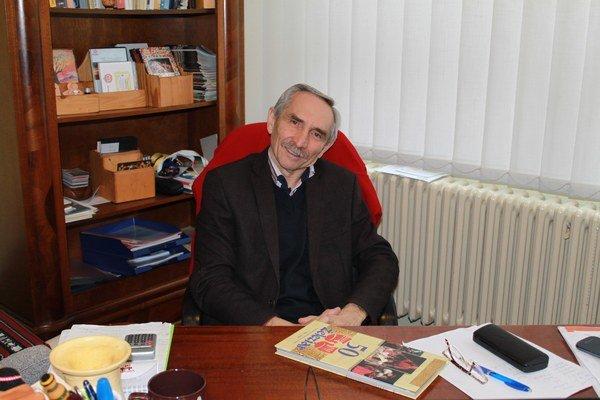 Vladimír Urban. Riaditeľ Železiaru.