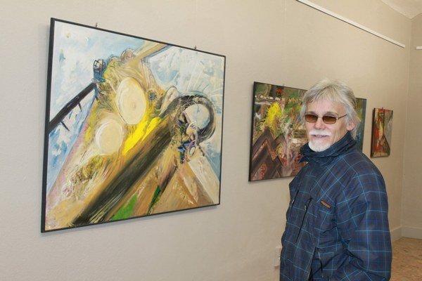 Jubilant. Umelcove diela môžete vidieť do 11. januára.