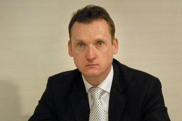 Martin Saloka. Jediný košický nominant nového akcionára.