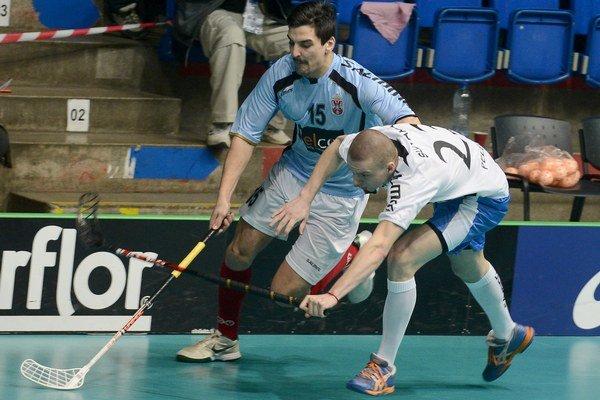 Patrik Pelegrin. Hráč ATU (vpravo) reprezentoval na majstrovstvách sveta.