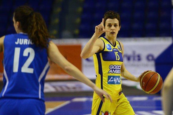 Good Angels Košice po tuhom boji  zvládli semifinálový duel s ŽKK Novi Záhreb.