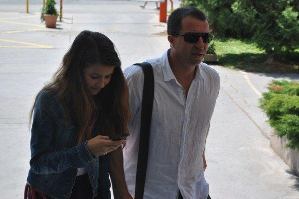 Varholík s Alexandrou idú na súd. Od leta 2012 je dcéra u otca.