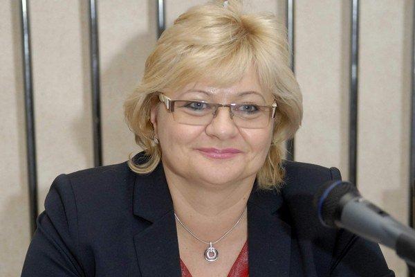 Iveta Kijevská. Proti zvýšeniu jej platu nebol nikto, no aj tak neprešiel.