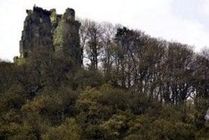 Zrúcaniny hradu Slanec