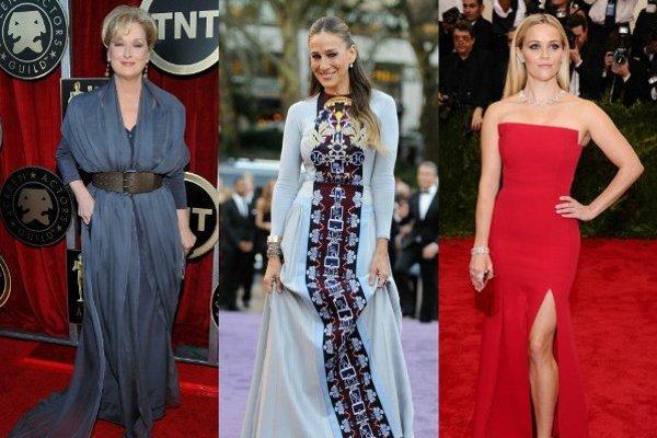 Zľava: Meryl Streep, Sarah Jessica Parker, Reese Witherspoon
