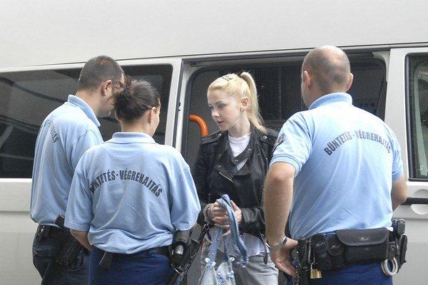 Eva Varholíková. V cele strávila už viac ako trinásť mesiacov.