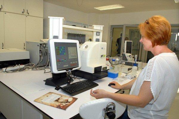 Laboratóriá na Prírodovedeckej fakulte. Tiež vznikli vďaka európskym peniazom.