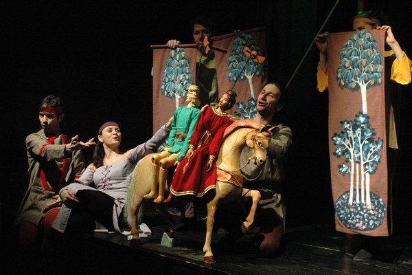 Aucassin a Nicoletta. V Užhorode získalo predstavenie Cenu za umelecké majstrovstvo.