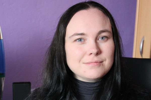 Michaela Ella Hajduková. Novú knižku napísala za rok.