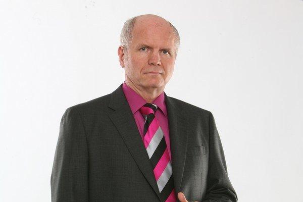 Peter Jurčovič. Meteorológ a moderátor.