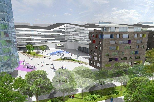 Nové centrum Košíc. Investícia za 300 miliónov eur.