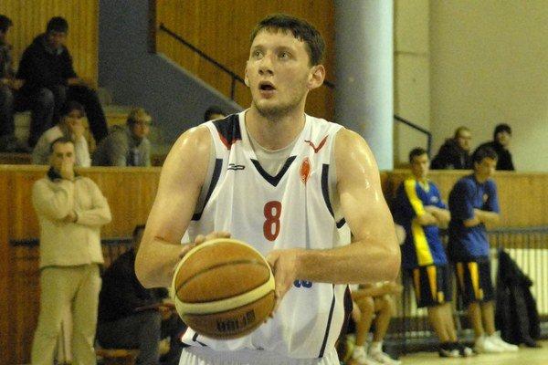 Peter Lechman. V zápase so Žilinou nastrieľal 44 bodov.