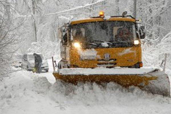 Náročná zima. Náklady dosiahli 4 milióny 706 tisíc eur, čo je o polovicu viac ako v predchádzajúcej sezóne.