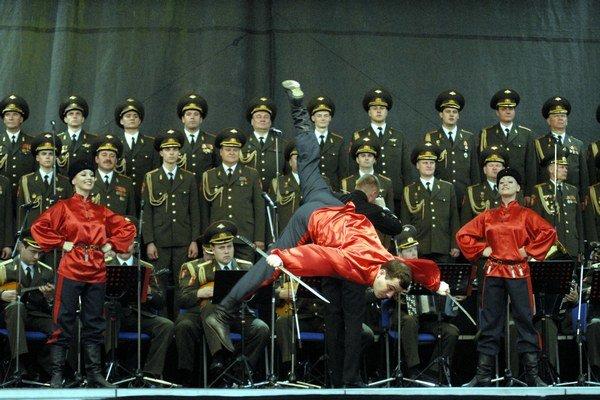 Aj takúto parádu predvedú v Košiciach. Koncerty Alexandrovcov patria k zážitkom, ktoré treba absolvovať.