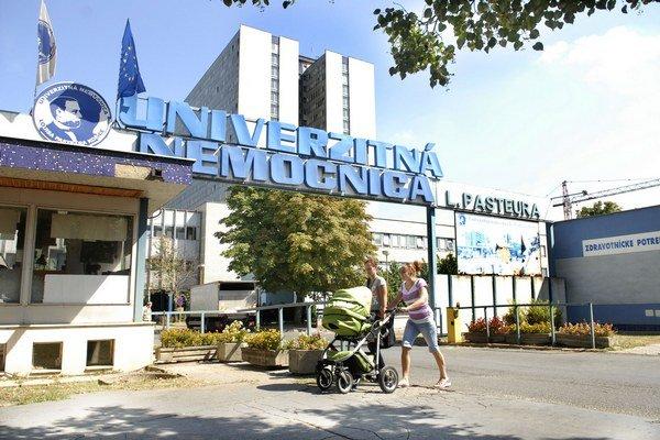 Univerzitná nemocnica. Exekúcia 8,3–tisíc eur neuznáva.
